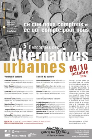 5e rencontres des Alternatives Urbaines